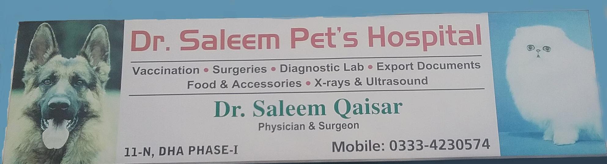 Saleem pets hospital