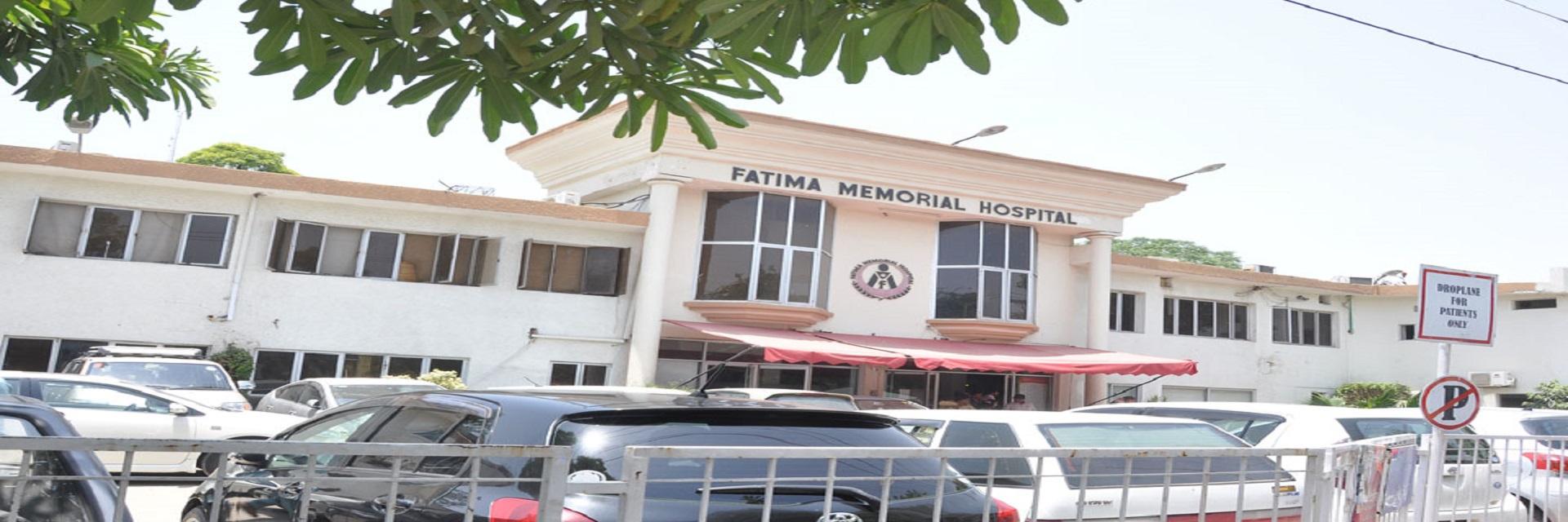 Fatima memorial hospital front