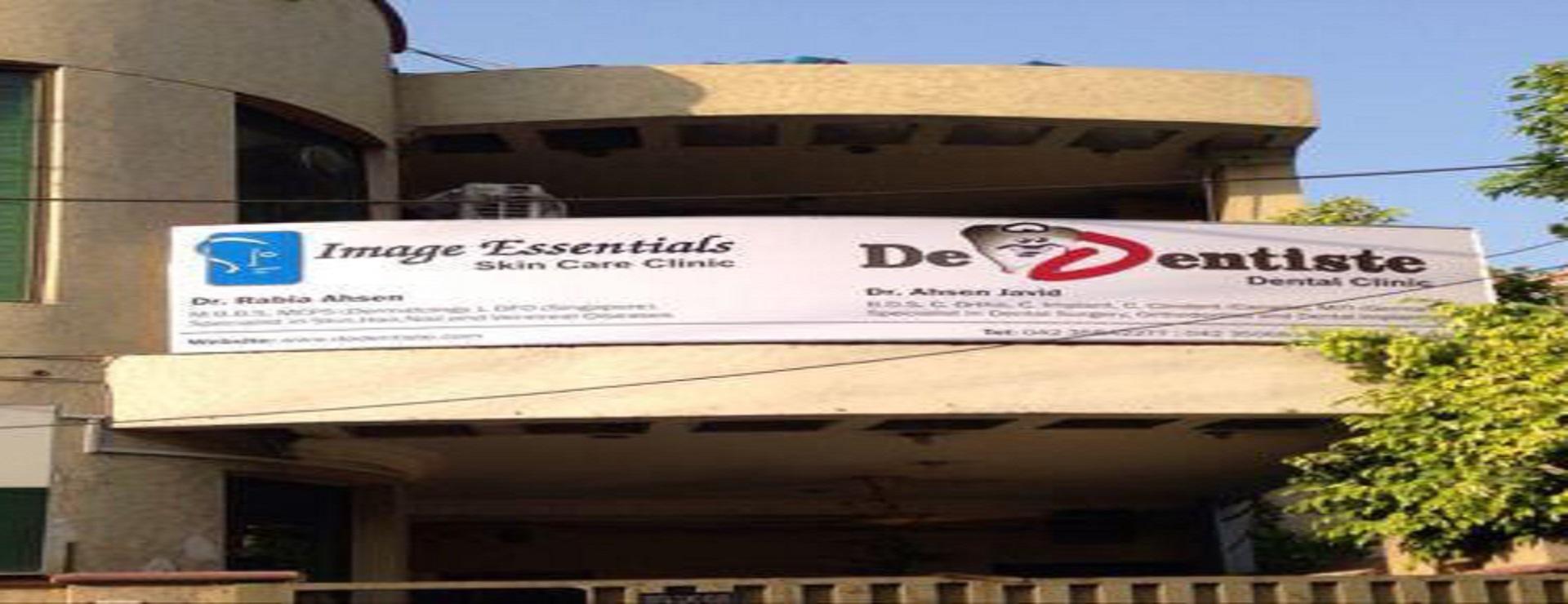 De dentiste front