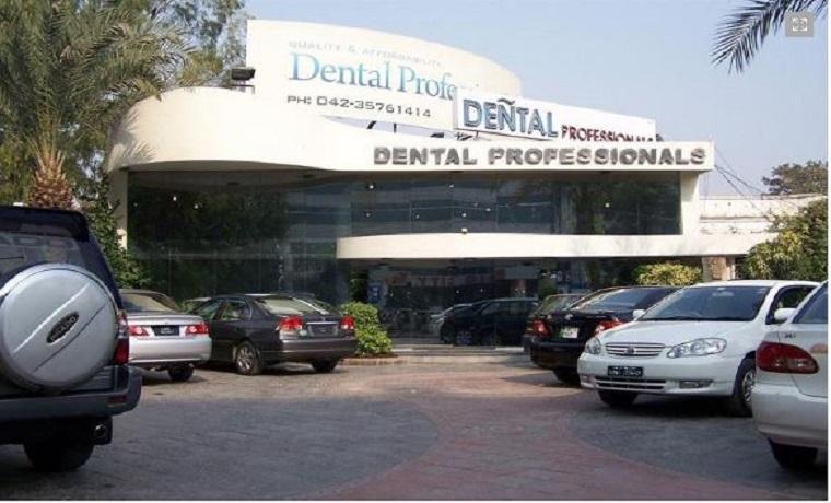 Dental professionals parking