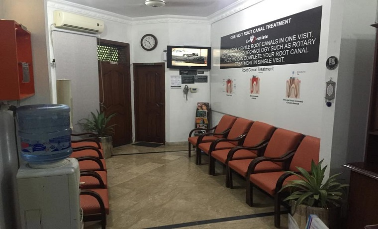 De dentiste waiting area