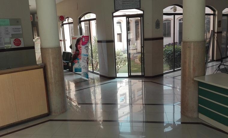 Medical center ladies club model town lobby