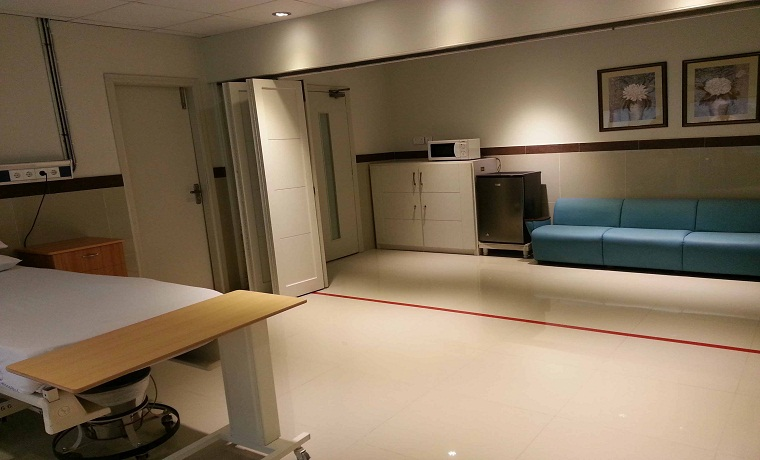 Mid city hospital vip room