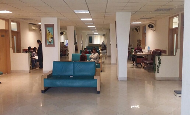 Dha medical center opd waiting area