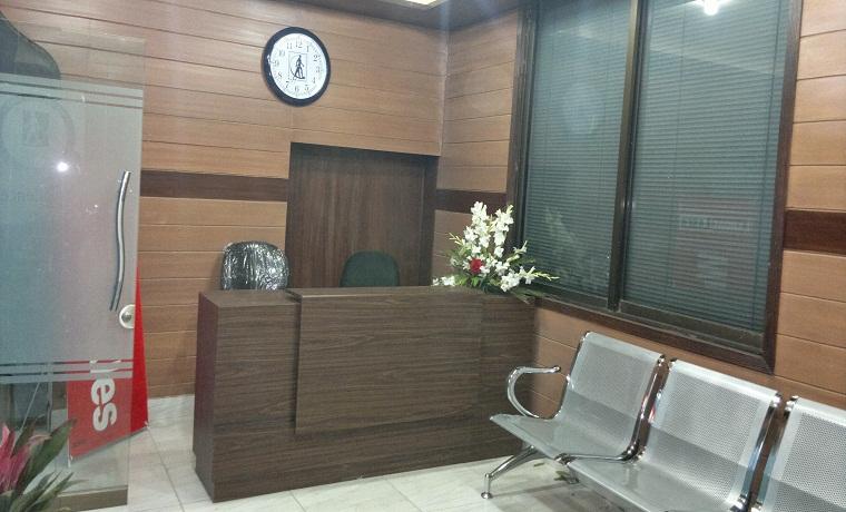 Lahore laser  front desk