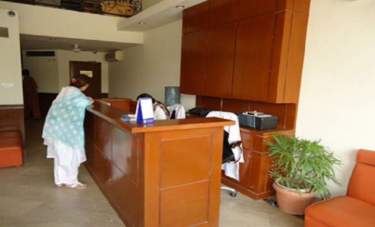 Lahore health care front desk