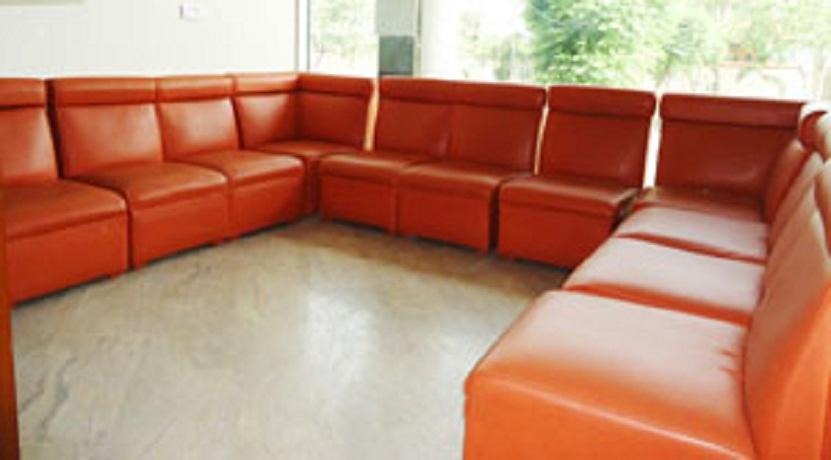 Lahore health care waiting area