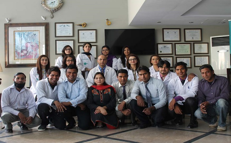 Cosmetique dha lahore clinical staff