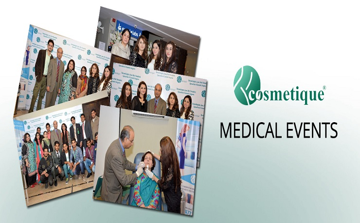 Cosmetique dha lahore medical events
