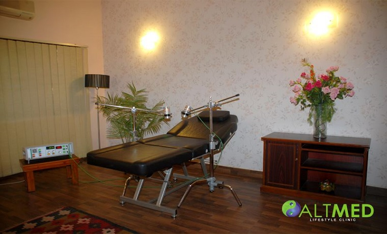 Altmed life style clinic therapy room