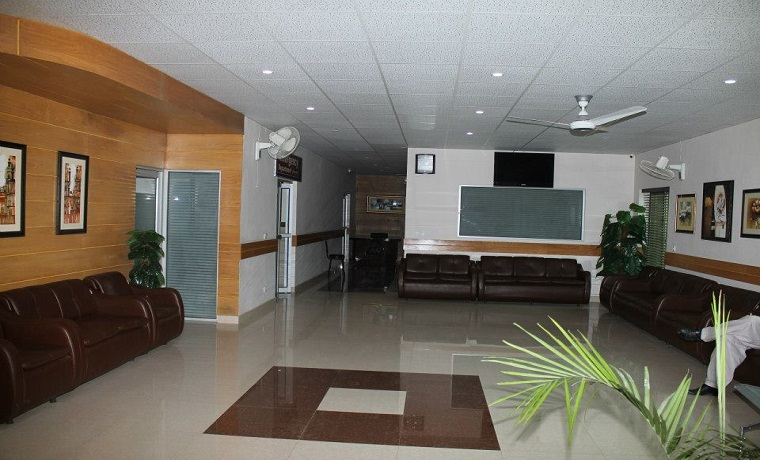 Citi hospital waitng area