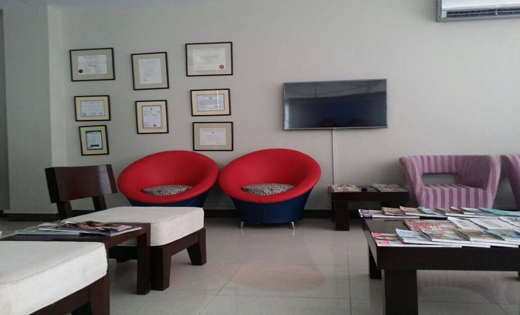 Rahman and rahman dental surgeons waiting area