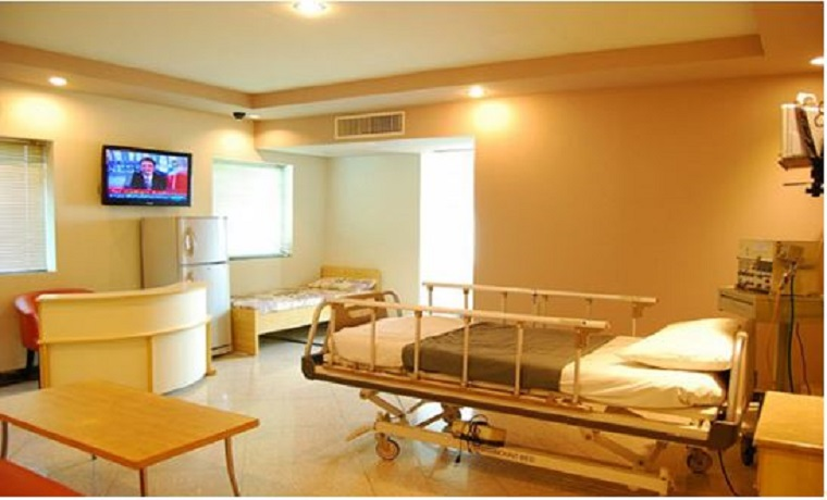 Doctors hospital private room
