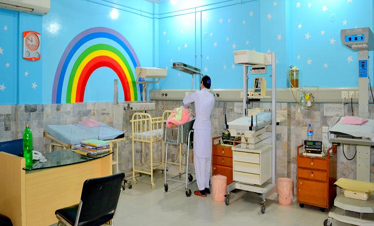 Saira memorial hospital nursery