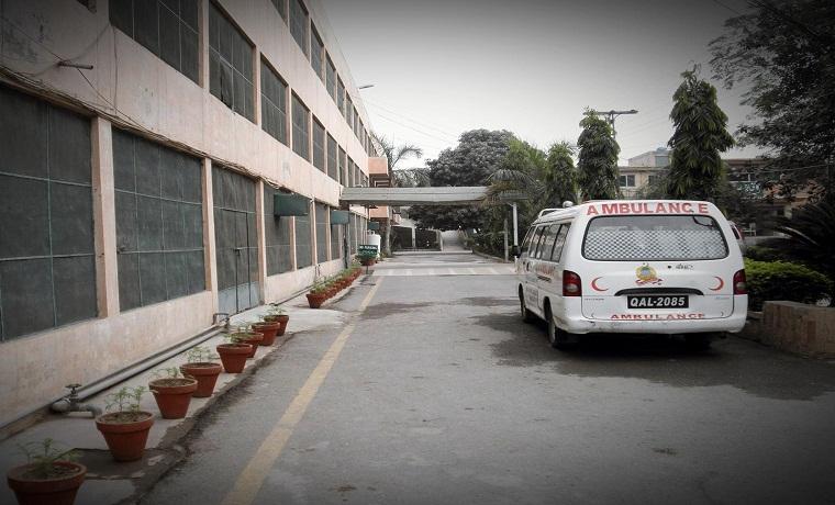 Mansoora hospital amublance service