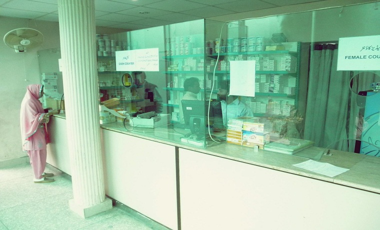 Mansoora hospital pharmacy