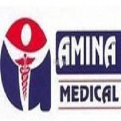 Amina medical center logo
