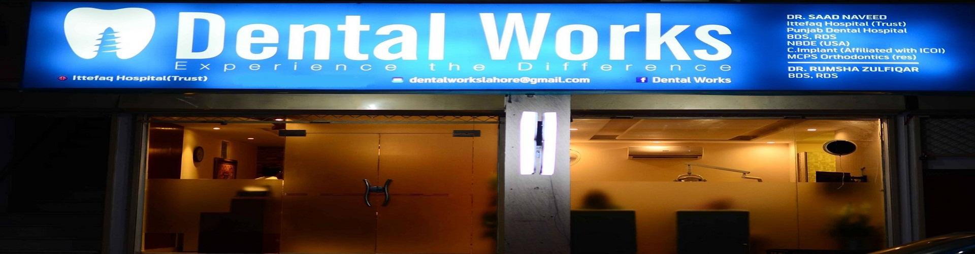 Dental works front