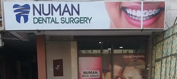 Numan dental surgery front