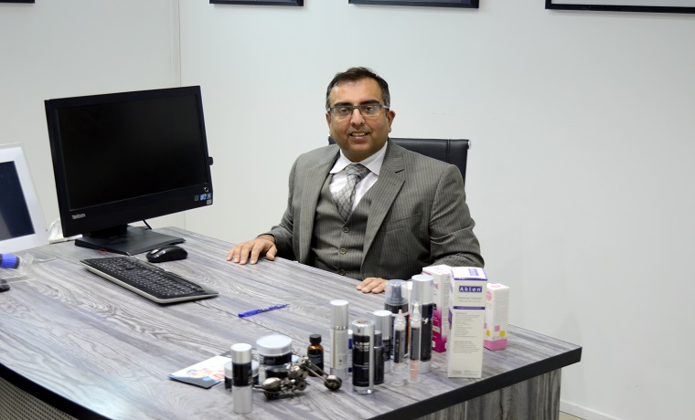 Singnature skin care dr. ahmad consultation room
