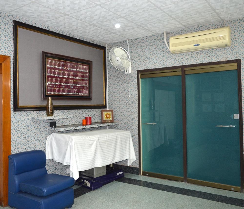 Contours surgery room