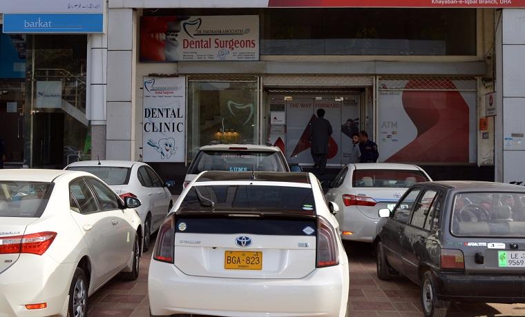 Dr nauman   associates parking